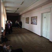 Photo taken at Школа №707 by Тимур З. on 4/19/2012