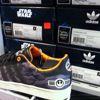 Photo taken at adidas Factory Outlet by Ryan B. on 5/18/2012