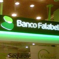 Photo taken at Banco Falabella SF Miraflores by Tatssss on 6/23/2012