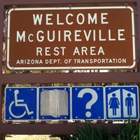 Photo taken at McGuireville Rest Area by Tonia F. on 2/24/2012