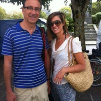 Photo taken at Marché Couvert by Angèle on 8/2/2012