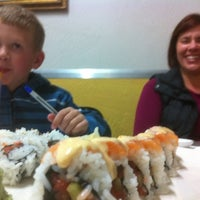 Photo taken at Kyoto Sushi Cafe by Brian S. on 3/10/2012