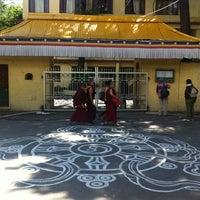 Photo taken at Dalai Lama Temple   दलाई लामा मंदिर by denis . on 5/1/2012