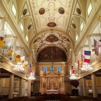 Photo taken at St. Louis Cathedral by JMOORE2FOUR on 6/18/2012