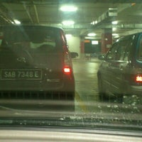 Photo taken at 1Borneo Hypermall Car Parking by Rudy H on 9/10/2012