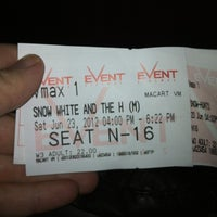 Photo taken at eVent Cinemas by Rebecca S. on 6/23/2012