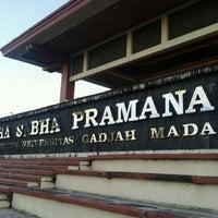 Photo taken at Grha Sabha Pramana (GSP) by Dimas G. on 5/8/2012