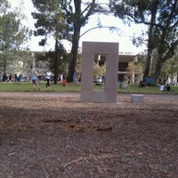 Photo taken at UCSD Stonehenge by Bill K. on 7/27/2012