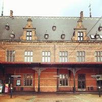 Photo taken at Helsingør Station by Soffie R. on 7/9/2012