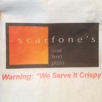 Photo taken at Scarfone's Coal Fire Pizza by Kathy on 8/19/2012