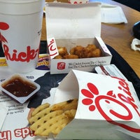 Photo taken at Chick-fil-A by Laurie B. on 7/27/2012