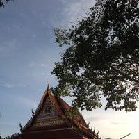 Photo taken at วัดไทร (สุราษฎร์ธานี) by Akaradej P. on 8/3/2012