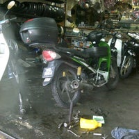 Photo taken at Kedai motosikal PMM Motors by Faizul N. on 3/1/2012