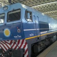 Photo taken at Estación Ferroautomotora de Mar del Plata by Juanchyo A. on 3/9/2012