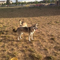 Photo taken at front range village dog park by Mike W. on 6/16/2012