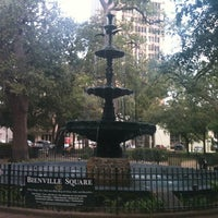 Photo taken at Bienville Square by John S. on 7/27/2012