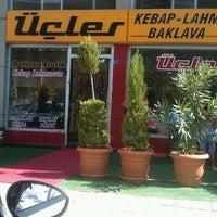 Photo taken at Üçler Kebap & Lahmacun by Mesut K. on 7/25/2012