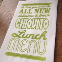 Photo taken at Chiquito by Christopher M. on 6/14/2012