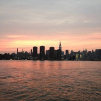 Photo taken at East River Ferry - India St/Greenpoint Terminal by Karen on 8/4/2012