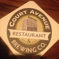 Photo taken at Court Avenue Restaurant & Brewing Company by Seth H. on 2/25/2012