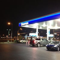 Photo taken at Chevron by Renata T. on 3/17/2012