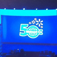 Photo taken at walmart shareholders 2012 50th by Avery B. on 5/30/2012