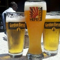 Photo taken at Gordon Biersch Brewery Restaurant by Melanie G. on 4/12/2012