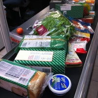 Photo taken at Migros by Sue L. on 2/20/2012