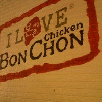 Photo taken at BonChon Chicken by Jelay T. on 7/21/2012