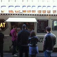 Photo taken at Morris Grilled Cheese Truck by Clement H. on 4/13/2012