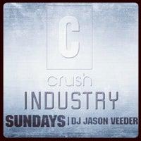 Photo taken at Crush by Jason V. on 1/16/2012