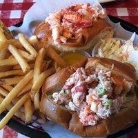 Photo taken at Old Port Lobster Shack by Van L. on 6/24/2012