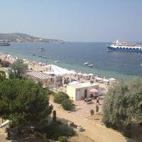 Photo taken at Yureklı Beach Club&Hotel by EyupCapoglu C. on 7/11/2012