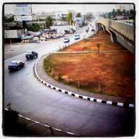 Photo taken at Flyover Urip Sumoharjo by Sandy S. on 8/20/2012