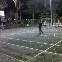 Photo taken at Lapangan Basket Realino by R Pandhu N. on 4/21/2012