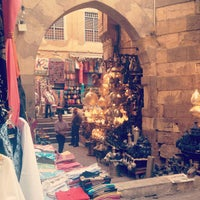Photo taken at Khan Al-Khalili by Fawziah Q. on 9/5/2012