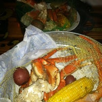 Photo taken at Joe's Crab Shack by Lucia J. on 3/13/2012