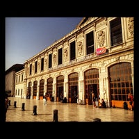 Photo taken at Marseille Saint-Charles Railway Station by Davy D. on 8/21/2012