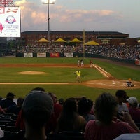 Photo taken at AutoZone Park by Mary C. on 6/17/2012