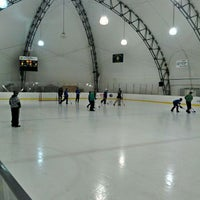 "Photo taken at Dominic ""Mimi"" DiPietro Family Skating Center by Donnie B. on 3/27/2012"