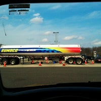 Photo taken at Montvale Service Area by John D. on 3/8/2012