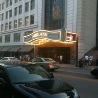 Photo taken at Arvest Bank Theatre at the Midland by hm h. on 7/8/2012