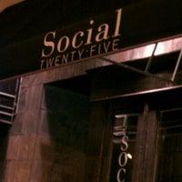 Photo taken at Social Twenty Five by Angela M. on 5/8/2012
