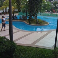 Photo taken at Riverfront Residences - Swimming Pool by Paula G. on 4/23/2012
