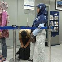 Photo taken at Bank Mandiri by eLhami h. on 3/2/2012