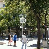 Photo taken at Часовникът (The City Clock) by Thérèsa V. on 7/3/2012