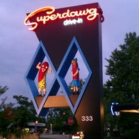 Photo taken at Superdawg Drive-In by JOSHUA 🇺🇸 J. on 8/9/2012