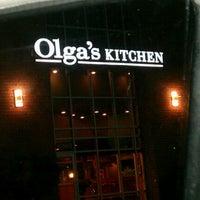 Photo taken at Olga's Kitchen by Megan J. on 9/9/2012