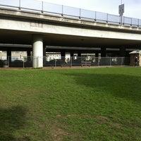 Photo taken at Hardy Park Dog Run by Caro G. on 2/6/2012