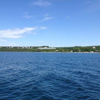 Photo taken at Straits of Mackinac by Jill R. on 6/6/2012
